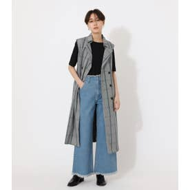 LOOSE TRENCH VEST/ルーズトレンチベスト 柄GRY