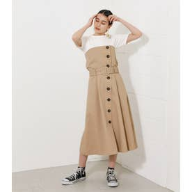 2WAY TRENCH BARE ONEPIECE BEG