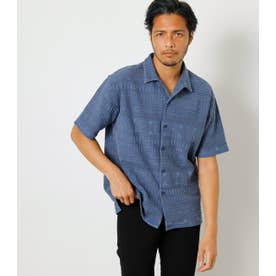 PIGMENT SHADOW CHIMAYO SHIRT BLU