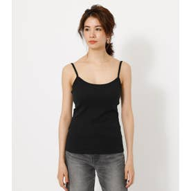 BACK OPEN CAMISOLE BLK