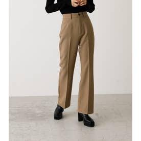 CENTER PRESS FLARE PANTS/センタープレスフレアパンツ