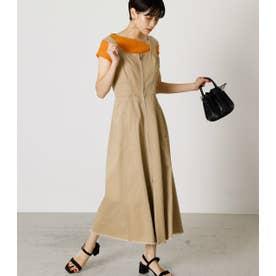 ZIP UP JUMPER DRESS -U/ジップアップジャンパードレス-U