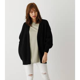 SWEATTER LOOSE GOWN BLK