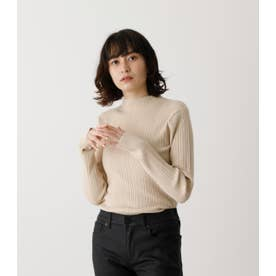 SNOWY HIGH NECK KNIT TOPS L/BEG1