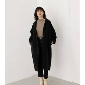 LOOSE CHESTER REVER COAT BLK