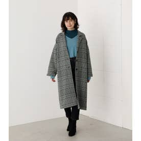 LOOSE CHESTER REVER COAT 柄GRN5
