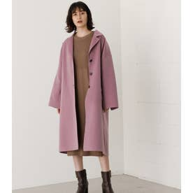 LOOSE CHESTER REVER COAT L/PUR1