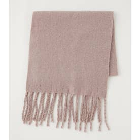 RING YARN SOFT STOLE L/PNK1