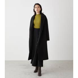 WASHABLE CHESTER LONG COAT BLK