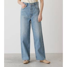 HIGH WAIST DENIM WIDE 3 L/BLU1