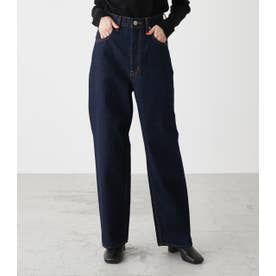 HIGH WAIST DENIM WIDE 3 One Wash1