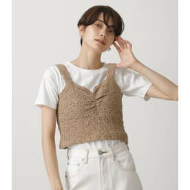 GATHER BUSTIER SET TOPS 柄BEG5