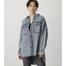 CHEMICAL DENIM SHIRT BLU
