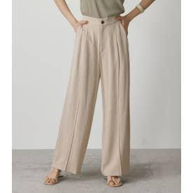 CENTER SEAM STRAIGHT PANTS L/BEG1