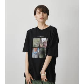 COLLAGE PHOTO TEE BLK