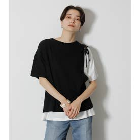 LACEーUP LAYER TOPS BLK
