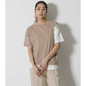 LACEーUP LAYER TOPS BEG
