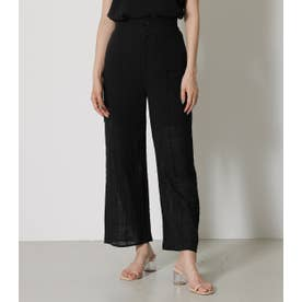 RELAX WIDE PANTS BLK