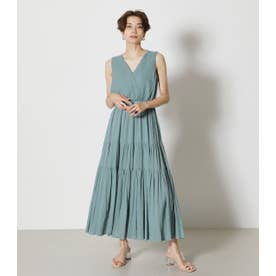 CREPE TIERED ONEPIECE D/SAX3