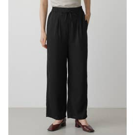 LOOSE STRAIGHT PANTS BLK