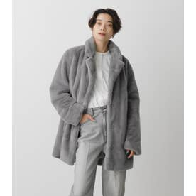 FLUFFY CHESTER COAT GRY
