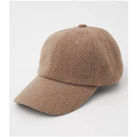 BRUSHED CORDUROY CAP BRN