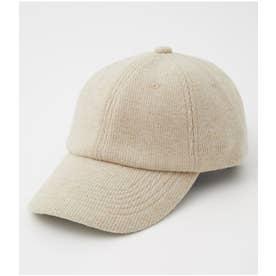 BRUSHED CORDUROY CAP L/BEG1
