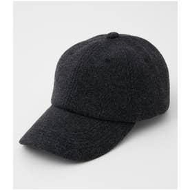 BRUSHED CORDUROY CAP C.GRY