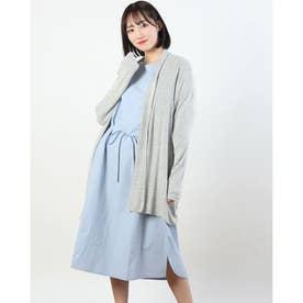 【特別プライス】モイスチャーロングカーディガン (GRAY)