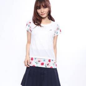 レディース テニス 半袖Tシャツ ショートスリーブシャツ BTWNJA14