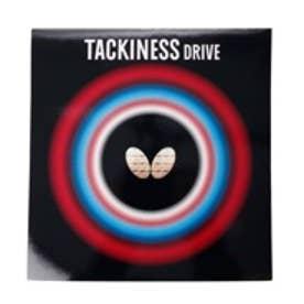卓球 ラバー(裏ソフト) タキネス ドライブ 厚さ:トクアツ/赤 2820177896