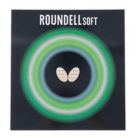 卓球 ラバー(裏ソフト) ラウンデルソフト 厚さ:トクアツ/赤 2820175356