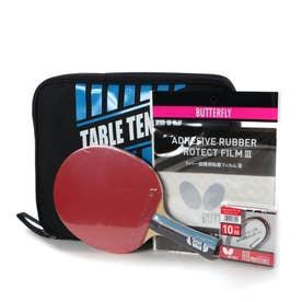 卓球 ラケット アルペンスポーツデポ限定 スターターセット 2020年 エクスターV 貼り合わせ加工済み ブルー 17000ST2