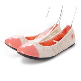 レディース 靴 シューズ バレエシューズ (Nude/Coral)
