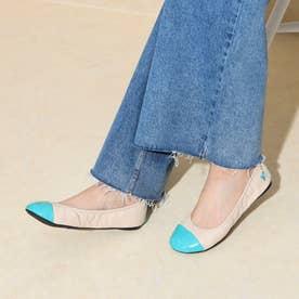 レディース 靴 シューズ バレエシューズ (Nude/Aqua)