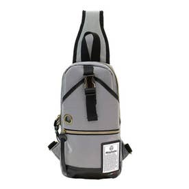 NBTC-01 DUALTEX ボディバッグ (ホワイトxブラック)