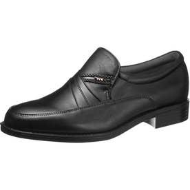 男性用ビジネスシューズ 通勤快足7709 紳士靴 メンズ (ブラック)