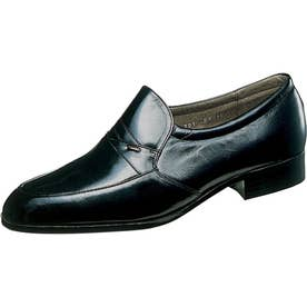 男性用ビジネスシューズ 丈夫でしなやかなカンガルー革を採用 通勤快足1204 紳士靴 メンズ (ブラック)