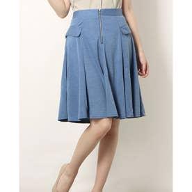 フロントZIPスカート (BLUE)