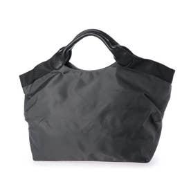 軽量 ナイロン  2wayトートバッグ 「アリア」 (カーボングレー)