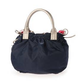 ナイロンA4トートバッグ 「テオドラ」 (ネイビー*ゴールド)