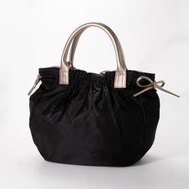 ナイロンA4トートバッグ 「テオドラ」 (ブラック*ゴールド)
