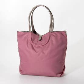 ナイロンA4トートバッグ「ジェノバ」 (ピンク*ゴールド)