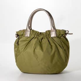 ナイロンA4トートバッグ 「テオドラ」 (ライトグリーン*ゴールド)