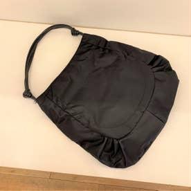 ナイロンA4トートバッグ「ジゼル」 (ブラック*ブラック)