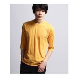 inner light raglan 3/4 t shirt (イエロー系(060))
