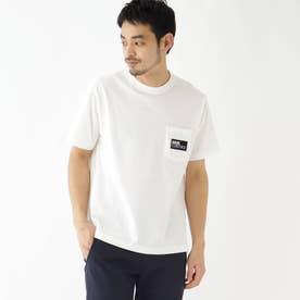 抗菌防臭 ロゴグラフィックバリエーション 半袖Tシャツ (アイボリー)
