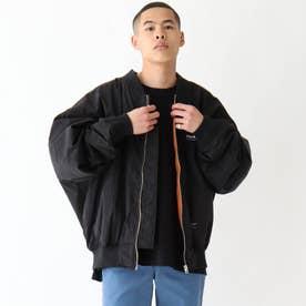 MARK GONZALES マークゴンザレス 別注 BIGボンバージャケット (ブラック)