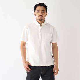 ベース コントロール 吸水速乾 カノコ ボタンダウンポロシャツ (アイボリー)