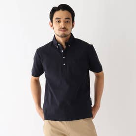 ベース コントロール 吸水速乾 カノコ ボタンダウンポロシャツ (ネイビー)